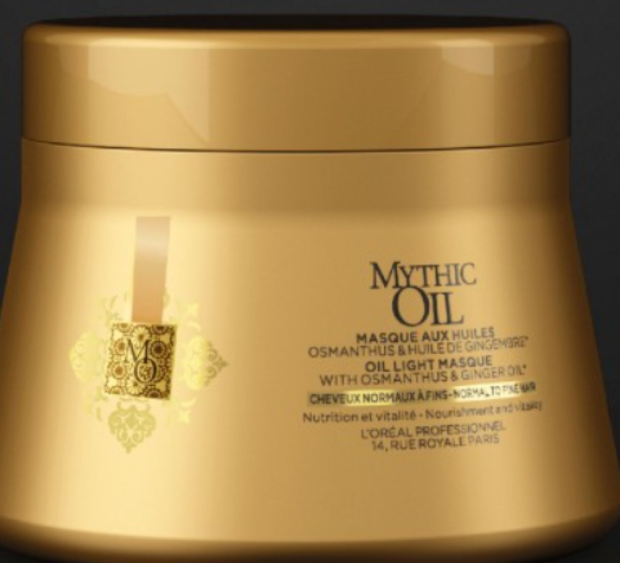 LOVE MY HAIR - masque mythic oil cheveux normaux à fins